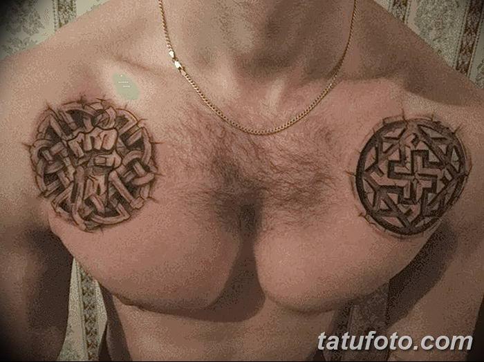 фото тату Звезда Сварога от 08.06.2018 №013 - Star of Svarog tattoo - tatufoto.com