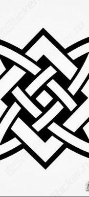 фото тату Звезда Сварога от 08.06.2018 №015 – Star of Svarog tattoo – tatufoto.com