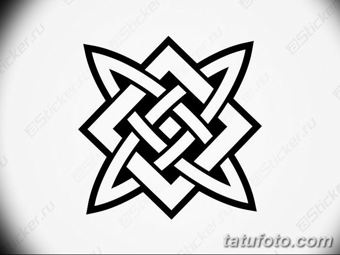 фото тату Звезда Сварога от 08.06.2018 №015 - Star of Svarog tattoo - tatufoto.com