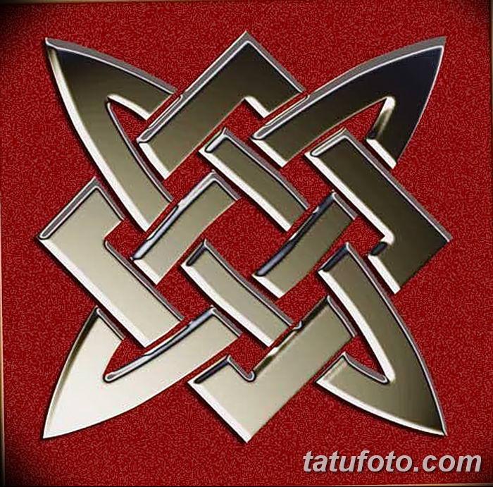 фото тату Звезда Сварога от 08.06.2018 №016 - Star of Svarog tattoo - tatufoto.com