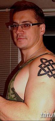 фото тату Звезда Сварога от 08.06.2018 №018 – Star of Svarog tattoo – tatufoto.com