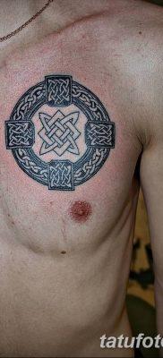 фото тату Звезда Сварога от 08.06.2018 №022 – Star of Svarog tattoo – tatufoto.com