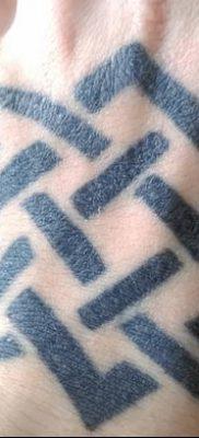 фото тату Звезда Сварога от 08.06.2018 №027 – Star of Svarog tattoo – tatufoto.com