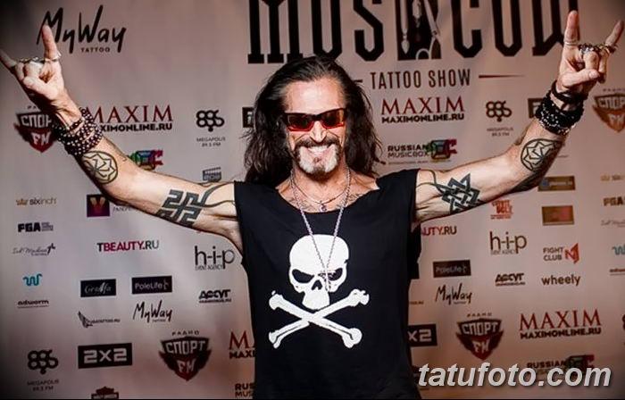 фото тату Звезда Сварога от 08.06.2018 №033 - Star of Svarog tattoo - tatufoto.com