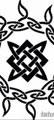 фото тату Звезда Сварога от 08.06.2018 №035 – Star of Svarog tattoo – tatufoto.com