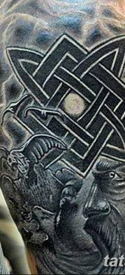 фото тату Звезда Сварога от 08.06.2018 №040 – Star of Svarog tattoo – tatufoto.com