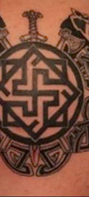 фото тату Звезда Сварога от 08.06.2018 №044 – Star of Svarog tattoo – tatufoto.com
