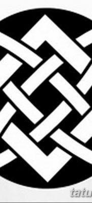 фото тату Звезда Сварога от 08.06.2018 №051 – Star of Svarog tattoo – tatufoto.com