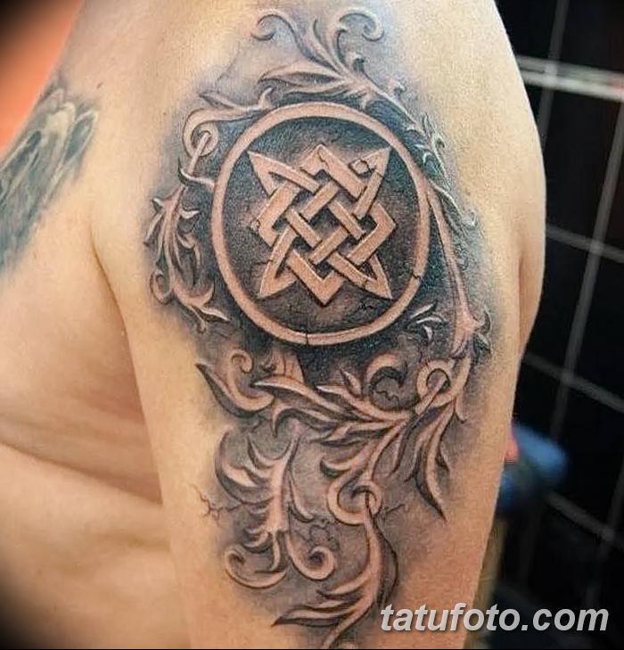 фото тату Звезда Сварога от 08.06.2018 №052 - Star of Svarog tattoo - tatufoto.com