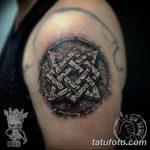 фото тату Звезда Сварога от 08.06.2018 №062 - Star of Svarog tattoo - tatufoto.com