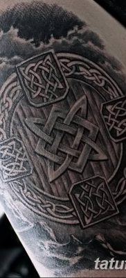 фото тату Звезда Сварога от 08.06.2018 №064 – Star of Svarog tattoo – tatufoto.com