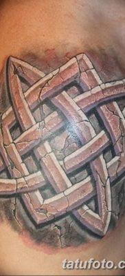фото тату Звезда Сварога от 08.06.2018 №067 – Star of Svarog tattoo – tatufoto.com