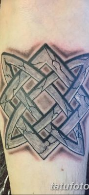 фото тату Звезда Сварога от 08.06.2018 №074 – Star of Svarog tattoo – tatufoto.com