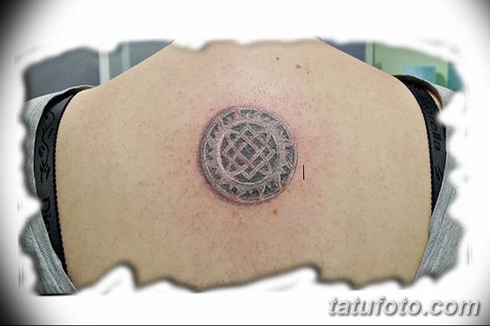 фото тату Звезда Сварога от 08.06.2018 №087 - Star of Svarog tattoo - tatufoto.com