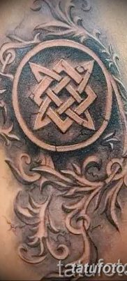 фото тату Звезда Сварога от 08.06.2018 №092 – Star of Svarog tattoo – tatufoto.com