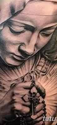 фото тату Икона Божьей Матери от 20.06.2018 №001 – tattoo Mother of God – tatufoto.com