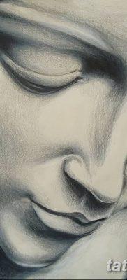 фото тату Икона Божьей Матери от 20.06.2018 №002 – tattoo Mother of God – tatufoto.com