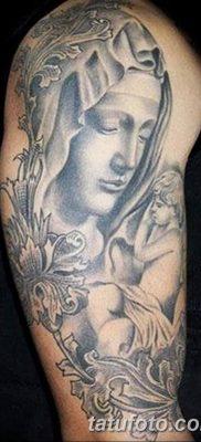 фото тату Икона Божьей Матери от 20.06.2018 №004 – tattoo Mother of God – tatufoto.com