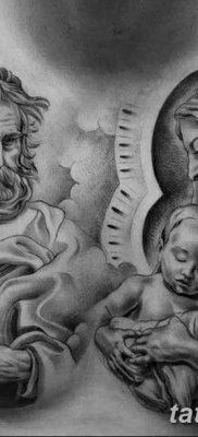 фото тату Икона Божьей Матери от 20.06.2018 №006 – tattoo Mother of God – tatufoto.com