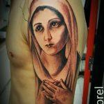 фото тату Икона Божьей Матери от 20.06.2018 №008 - tattoo Mother of God - tatufoto.com