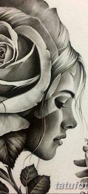 фото тату Икона Божьей Матери от 20.06.2018 №010 – tattoo Mother of God – tatufoto.com