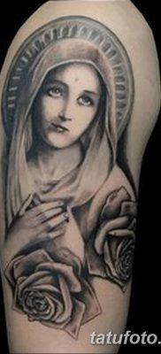 фото тату Икона Божьей Матери от 20.06.2018 №014 – tattoo Mother of God – tatufoto.com