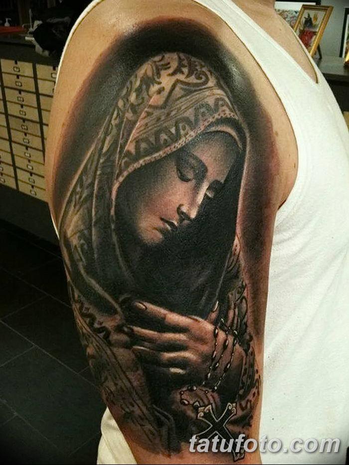 Фото татуировок для мужчин икон