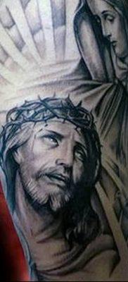 фото тату Икона Божьей Матери от 20.06.2018 №019 – tattoo Mother of God – tatufoto.com