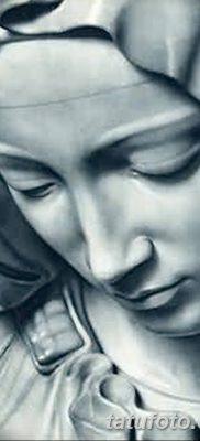 фото тату Икона Божьей Матери от 20.06.2018 №020 – tattoo Mother of God – tatufoto.com