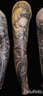 фото тату Икона Божьей Матери от 20.06.2018 №023 – tattoo Mother of God – tatufoto.com
