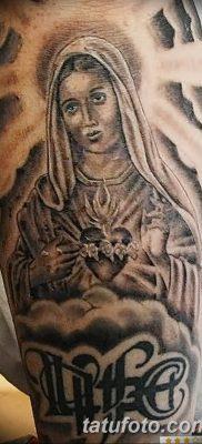 фото тату Икона Божьей Матери от 20.06.2018 №028 – tattoo Mother of God – tatufoto.com