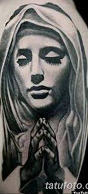 фото тату Икона Божьей Матери от 20.06.2018 №041 – tattoo Mother of God – tatufoto.com