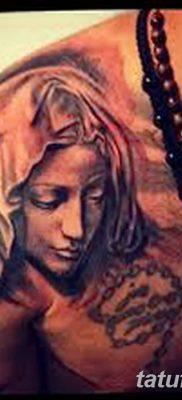 фото тату Икона Божьей Матери от 20.06.2018 №042 – tattoo Mother of God – tatufoto.com