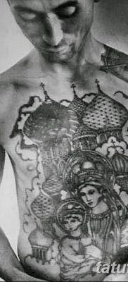 фото тату Икона Божьей Матери от 20.06.2018 №047 – tattoo Mother of God – tatufoto.com