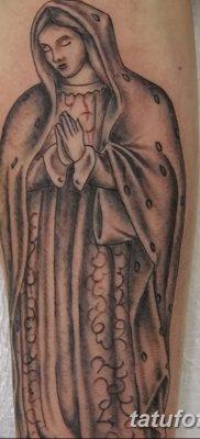 фото тату Икона Божьей Матери от 20.06.2018 №050 – tattoo Mother of God – tatufoto.com