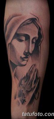фото тату Икона Божьей Матери от 20.06.2018 №052 – tattoo Mother of God – tatufoto.com