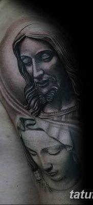 фото тату Икона Божьей Матери от 20.06.2018 №056 – tattoo Mother of God – tatufoto.com
