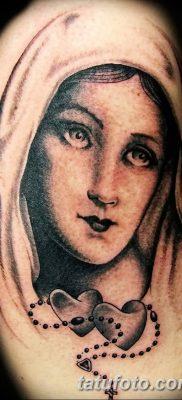 фото тату Икона Божьей Матери от 20.06.2018 №059 – tattoo Mother of God – tatufoto.com