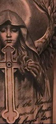 фото тату Икона Божьей Матери от 20.06.2018 №070 – tattoo Mother of God – tatufoto.com