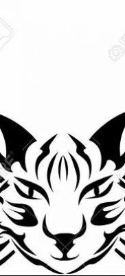 фото тату Кошка с крыльями от 26.06.2018 №019 – Cat tattoo with wings – tatufoto.com