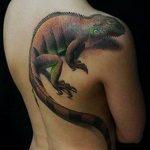 фото тату игуана от 26.06.2018 №006 - tattoo of iguana - tatufoto.com