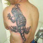 фото тату игуана от 26.06.2018 №009 - tattoo of iguana - tatufoto.com