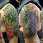 фото тату игуана от 26.06.2018 №026 - tattoo of iguana - tatufoto.com