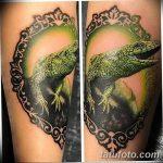 фото тату игуана от 26.06.2018 №030 - tattoo of iguana - tatufoto.com