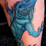 фото тату игуана от 26.06.2018 №041 - tattoo of iguana - tatufoto.com