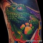 фото тату игуана от 26.06.2018 №055 - tattoo of iguana - tatufoto.com