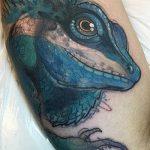 фото тату игуана от 26.06.2018 №056 - tattoo of iguana - tatufoto.com