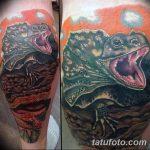 фото тату игуана от 26.06.2018 №062 - tattoo of iguana - tatufoto.com