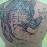 фото тату игуана от 26.06.2018 №069 - tattoo of iguana - tatufoto.com