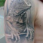 фото тату игуана от 26.06.2018 №070 - tattoo of iguana - tatufoto.com